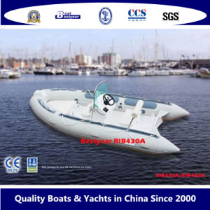 Bestyear Rigid Inflatable Boat of Rib 430A pictures & photos