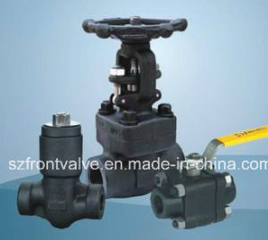 Forged Steel Threaded and Sw Valves pictures & photos