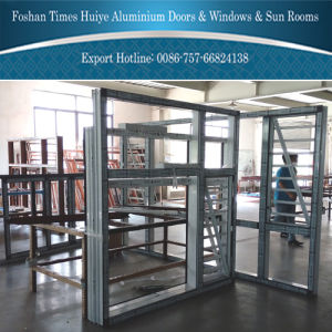 2016 New Aluminium Fixed Window with Heat Insulation pictures & photos