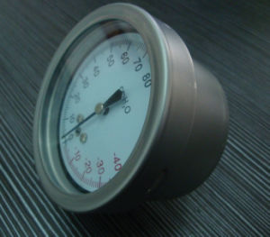63mm CMH2o Low Pressure Gauge for Gas with Special Connection pictures & photos