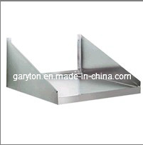 Stainless Steel Wall Mounted Microwave Shelf for Putting Things (HL-WMS18X24) pictures & photos