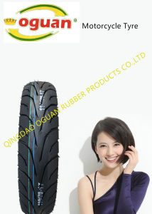 Export Sales of Motorcycle Tire of 80/90-17 pictures & photos