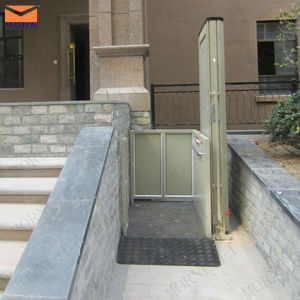 2m Vertical Chair Lifts for The Disabled People pictures & photos