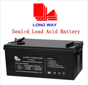 Rechargeable Wind Power Solar Sealed Lead-Acid Battery pictures & photos