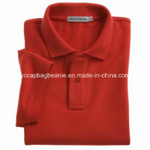 Single Jersey Men′s Polo Shirt pictures & photos