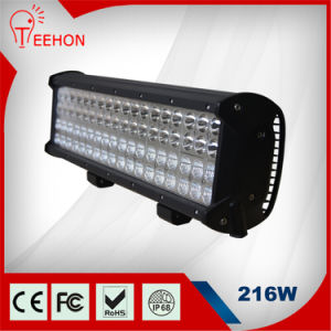 Teehon 17inch 216W 4 Rows High Lumen LED Work Light Bar Spot/Flood/Combo Light Boat Offroad Ute ATV 12-24V pictures & photos