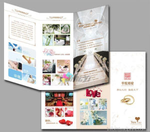 High Quality Advertising Flyers / Leaflet / Catalogue / Brochure printing With Full Color pictures & photos