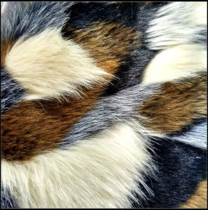 Custom Printed High Pile Faux Fur pictures & photos