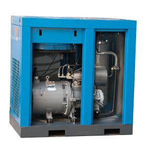 22kw 37 Kw 55 Kw Oil Flooded Direct Driven AC Electric Rotary Screw Air Compressor