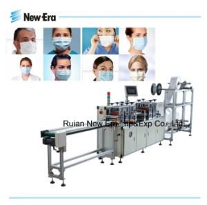 Automatic Nonwoven Fabric Face Mask Making Machine (CE)
