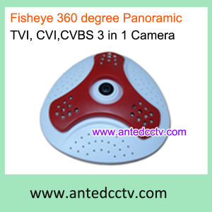 Panoramic Infrared Dome Camera HD-Cvi/Tvi/Cvbs Video Output 3 in 1 Hybrid CCTV Camera pictures & photos