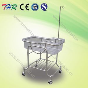 Stainless Steel Reclinning Baby Bassinet pictures & photos