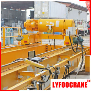 China Top Manufacturer Overhead Traveling Crane, Double Girder Bridge Crane pictures & photos