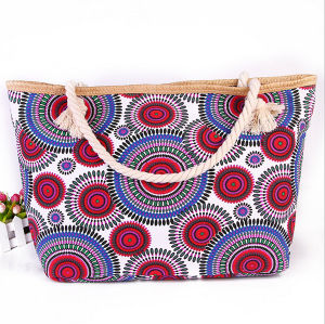 Fashion Fabric Shoulder Bag Handbags Leisure Bag Canvas Handbag Cotton Rope Handbags pictures & photos