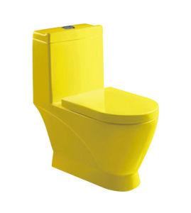 Siphon/Washdown Multi Colour Toilet pictures & photos