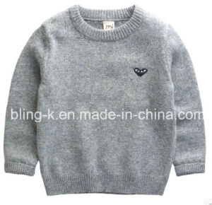 Fall Winter Warm Feeling Pure Wool Pullover for Baby/Children