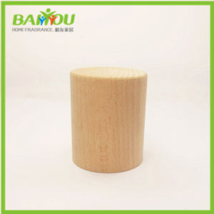 High Quality Oil Glass Bottle Wooden Cap pictures & photos