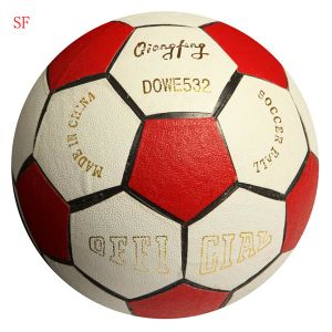 Leather Football Leather Soccer Ball Promotional Ball pictures & photos