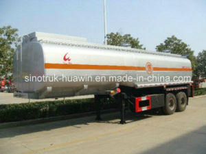 Sinotruk 2-Axle Fuel Tanker Semi Trailer pictures & photos