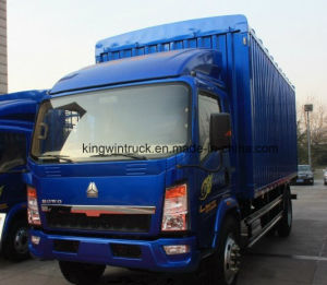 HOWO Light Cargo Truck with Cargo pictures & photos