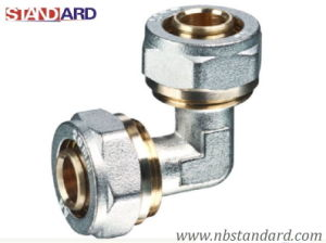 Pex-Al-Pex Fitting/Elbow Compression Fitting/Brass Fitting for Pex-Al-Pex Pipe pictures & photos