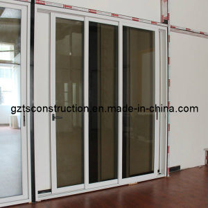 Sliding Door Commercial with As2047 Certification Commerical Profile Double Glazed Glass pictures & photos