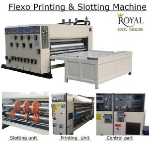 Flexo Printing and Slotting Machine (Digital Display) pictures & photos
