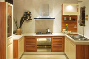 Melamine Pantry Kitchen Cupboards Furniture (zg-044) pictures & photos