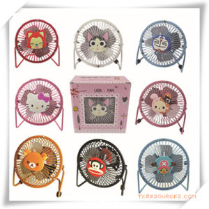 Cartoon Mini Electric Fan for Promotion pictures & photos