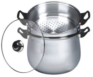 30cm Stainless Steel Couscous Pot (CP003) pictures & photos