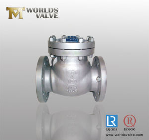 Carbon Steel Swing Check Valve with Flange End pictures & photos