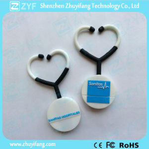 Medical Gift Custom PVC Stethoscope USB Flash Drive (ZYF1004) pictures & photos