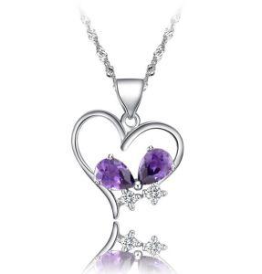 2014 Newest Heart Necklace Pendant Fq-8019