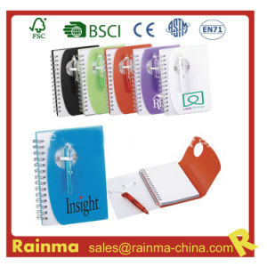 PVC Cover Notebook for School and Office Promotion pictures & photos