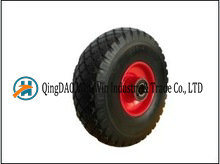 Inflation Free Polyurethane Wheel From China Supplier (3.00-4) pictures & photos