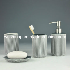 Porcelain Bath Accessory Set (WBC0632A) pictures & photos