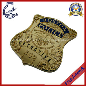 Boston Police Detective Badge, 3D Die Cast Badge pictures & photos