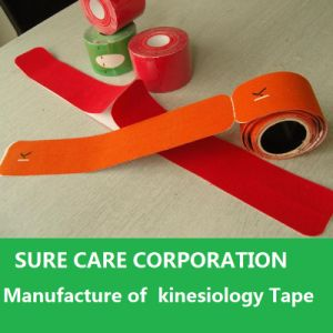 Therapy Kinesio Tape/ Kinesiology Tape pictures & photos
