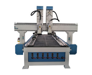 4 Axis CNC Wood Carving Machine Moulding Engraving CNC Router pictures & photos