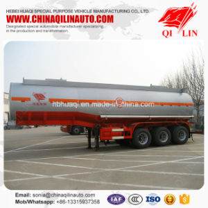 30000 Liters Carbon Steel Caustic  Soda  Liquid Tank Semi Trailer pictures & photos