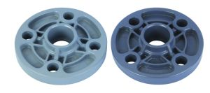UPVC Socket Flange/Plastic Threaded Flange pictures & photos