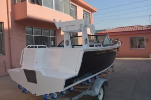 Australia Design 17FT Bowrider Aluminum Fishing Boat