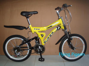 "20""Children Suspension 18sp Mountain Bicycles (FP-KDB055) pictures & photos"