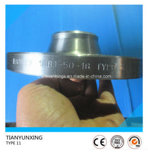 En1092-1 Carbon Steel Type11 Weld Neck Flange pictures & photos
