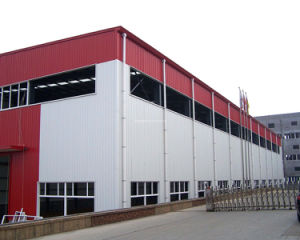 Prefab Multi-Storey Steel Structure Buildings Workshop pictures & photos