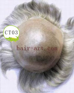 Toper / Lace & Injected Toupee with Mono & Common Base pictures & photos