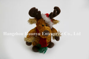 Factory Supply Baby Stuffed Reindeer Toy pictures & photos