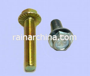 DIN6921 Hex Head Flange Bolts and Nuts
