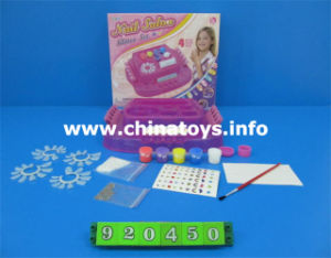 DIY Girl Nail Salon Plastic Accessories Toy (920450) pictures & photos