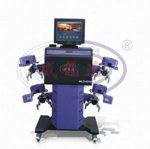 Hot Sale Garage Equipment Model CCD Wheel Alignment Wld-A312 pictures & photos